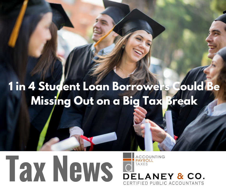 1 in 4 Student Loan Borrowers Could Be Missing Out on a Big Tax Break
